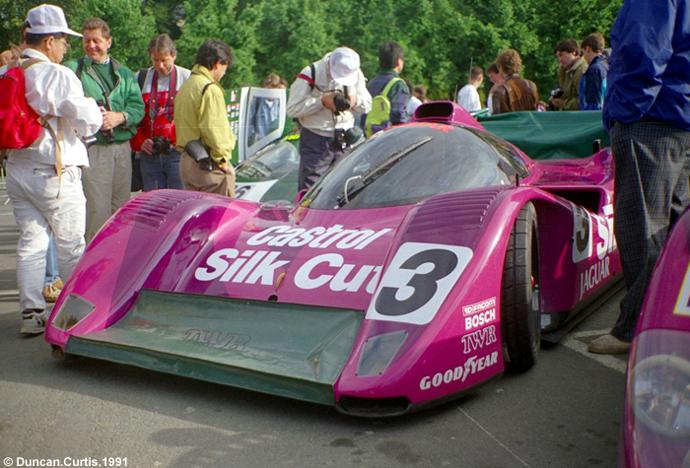 Jaguar XJR-14 - SWC Le Mans 1991