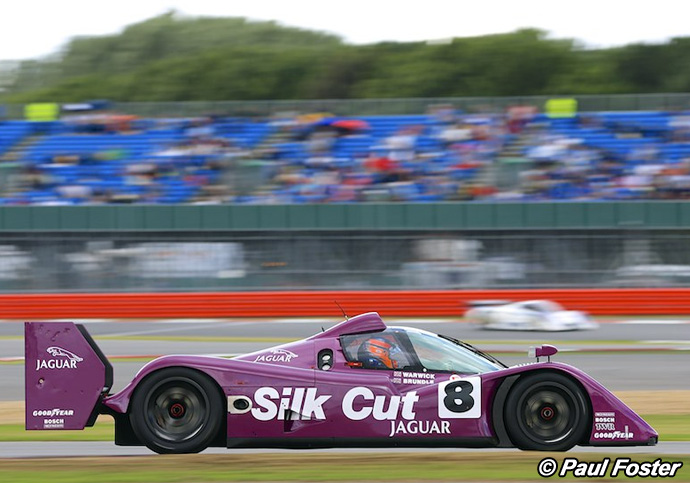 Jaguar XJR-14 - Silverstone Classic 2013