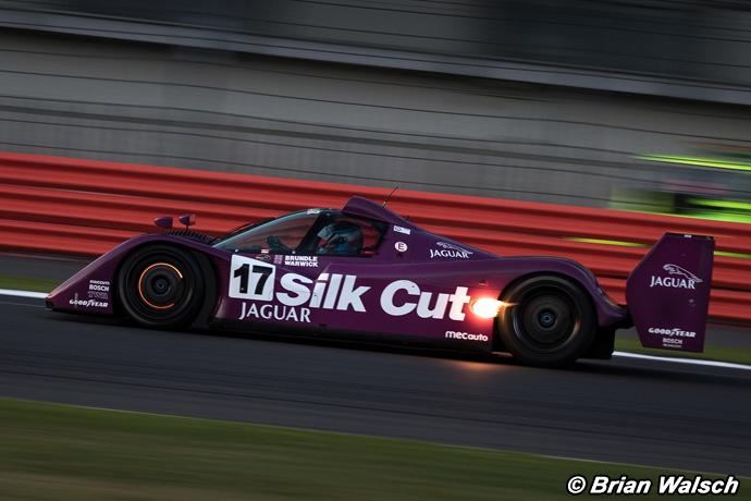 Jaguar XJR-14 - Silverstone Classic 2015