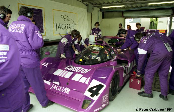 Jaguar XJR-14 - SWC Silverstone 1991